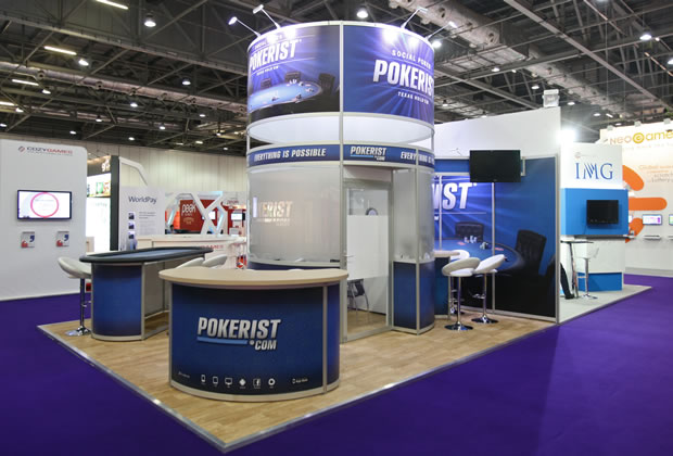 Exhibition Stand for Pokerist