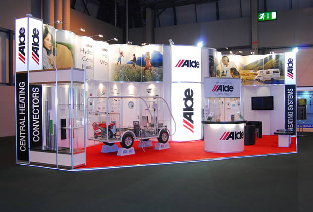 Exhibition Stand for Alde