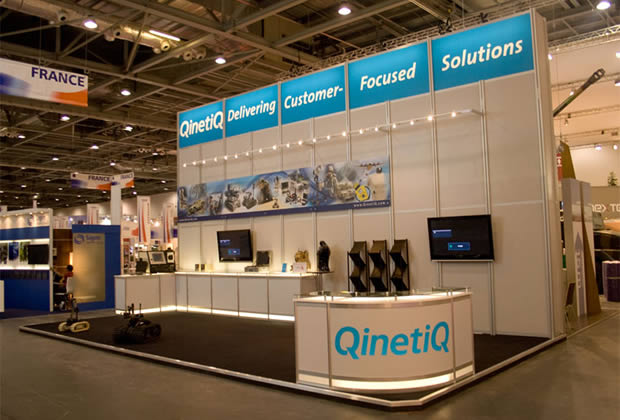 Exhibition Stand for Qinetiq