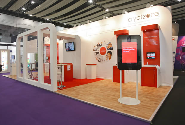 Exhibition Stand for Cryptzone