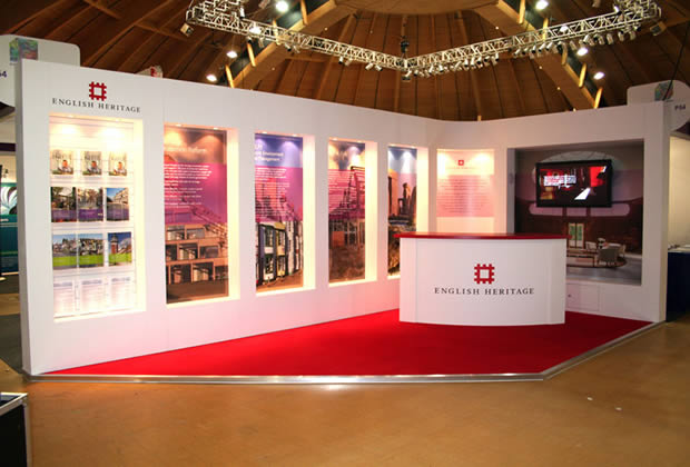 Exhibition Stand for English Heritage