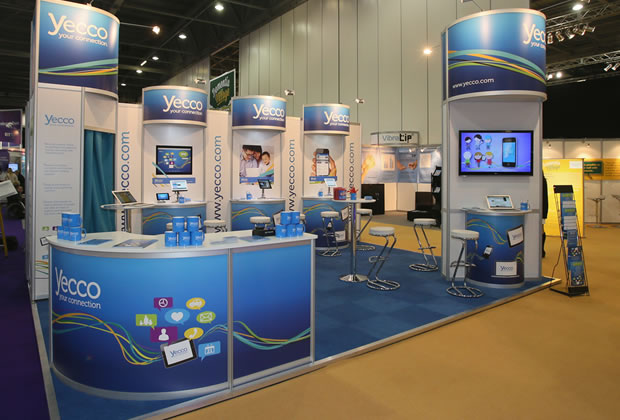Exhibition Stand for Yecco
