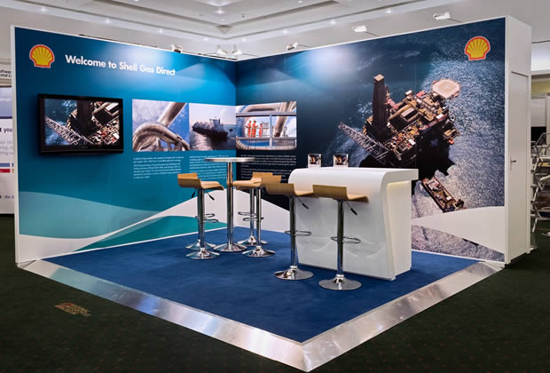 Shell Global Exhibition Programme : Exhibition stands uk stand contractors