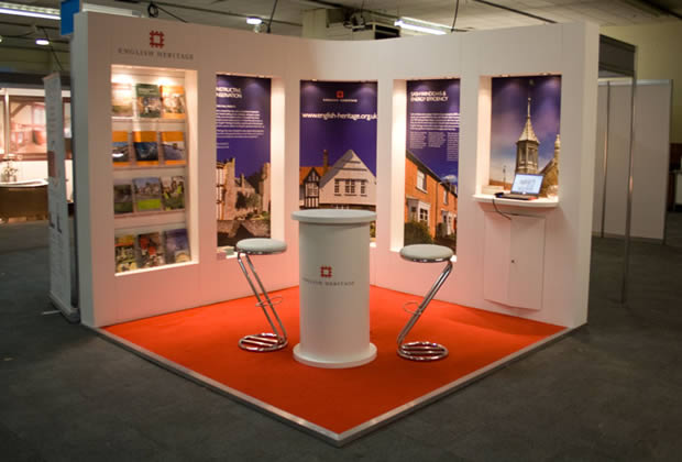 Exhibition Shell Stands : Self build stand systems aspect exhibitions