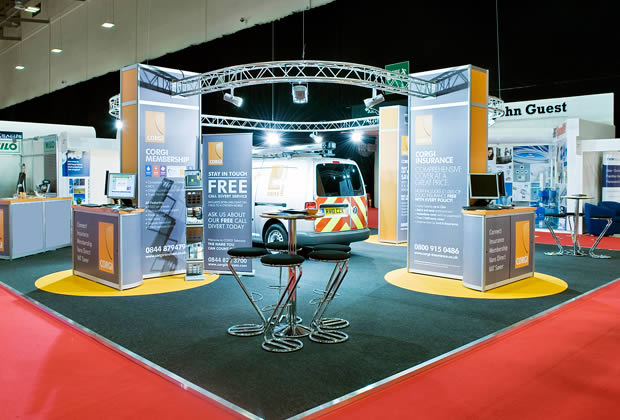 Exhibition Stand Lighting Game : Gallery examples of our work aspect exhibitions
