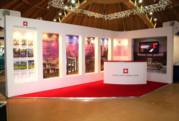 English Heritage Colonnade Exhibition Stand