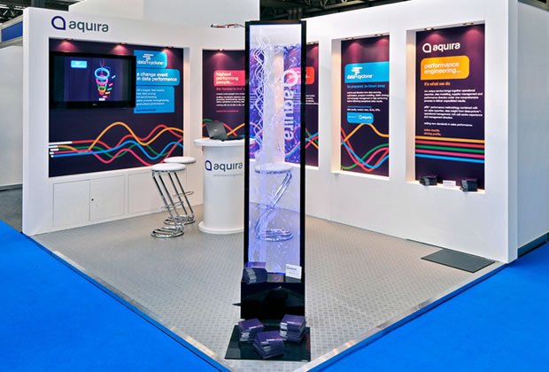 Aquira Colonnade Exhibition Stand