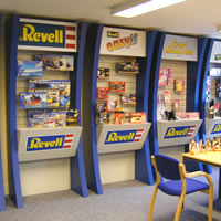 Revell using some of our Custom Displays