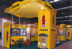 Crayola MeroForm M12 Exhibition Stand