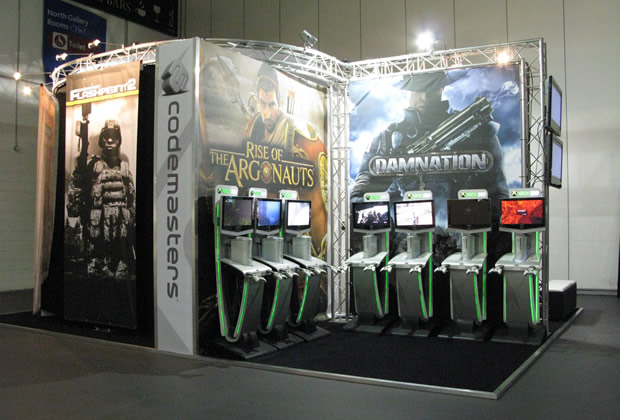 XBox Exhibition Stands used to attract crowds