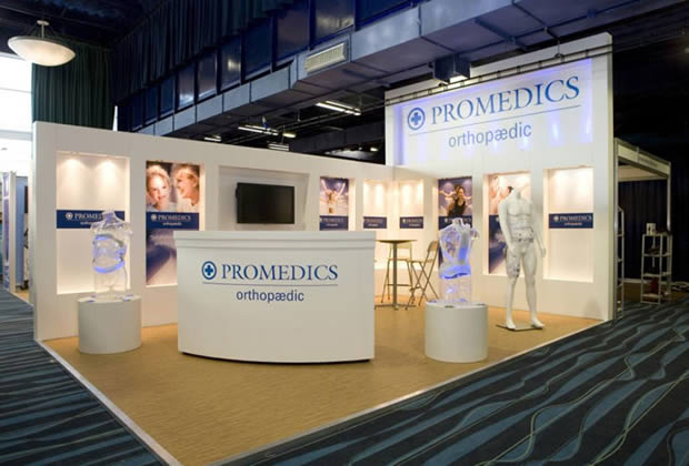 Colonnade Exhibition Stand