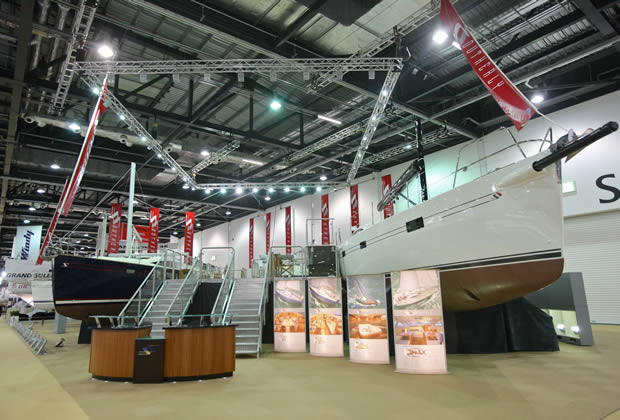 Lighting Gantry Exhibition Stand