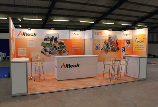 Tension Fabric Exhibition Stand