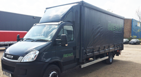 Iveco Daily Curatin Side