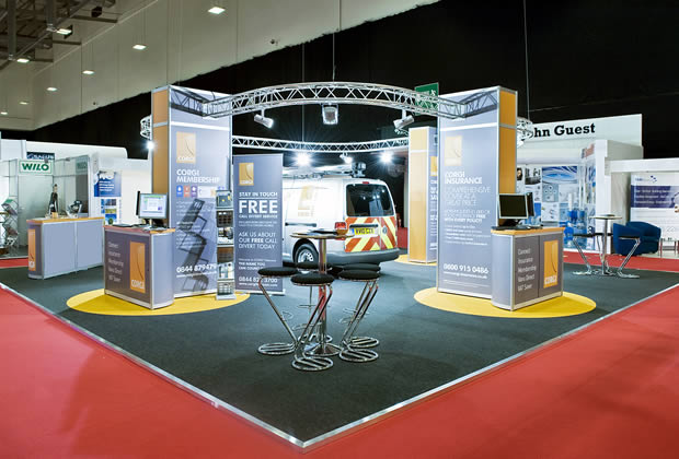 Exhibition Stand Lighting Xl : Lighting gantry aluminium truss trilite aspect