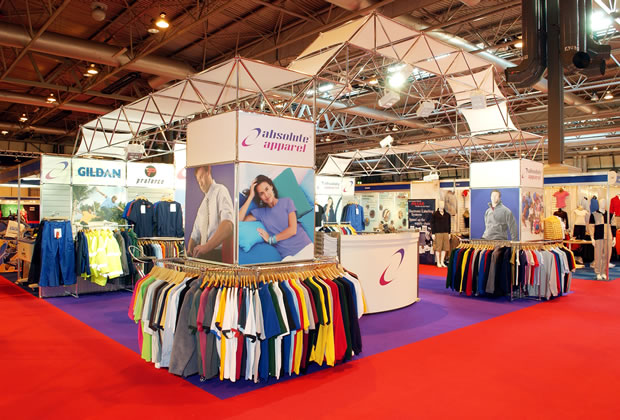 Meroform Exhibition Stand for Absolute Apparel
