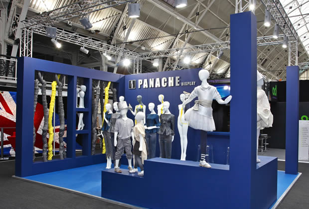 A modular exhibition stand for Panache