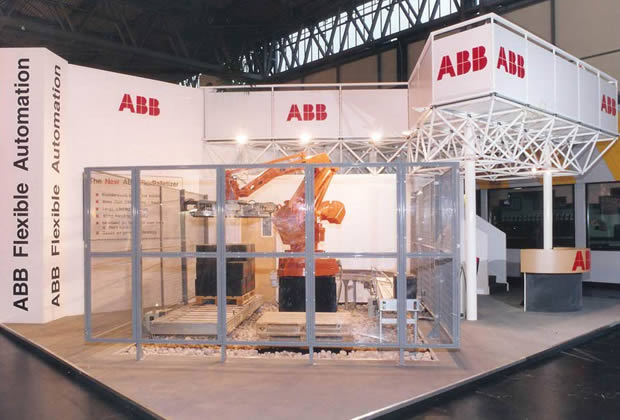 A modular exhibition stand for ABB