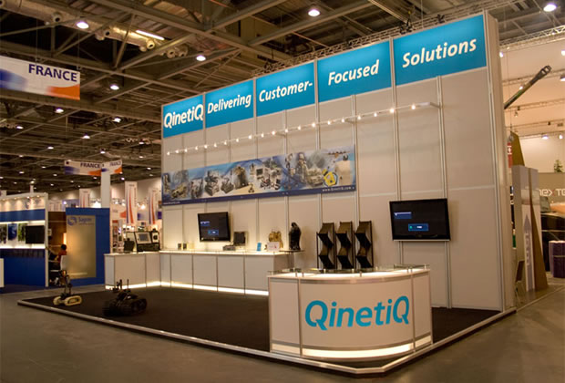 Qinetiq R8 System Exhibition Stand