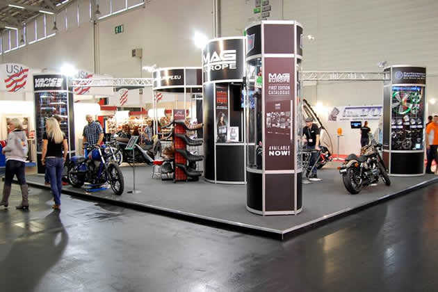 MAG Europe Exhibition Stand