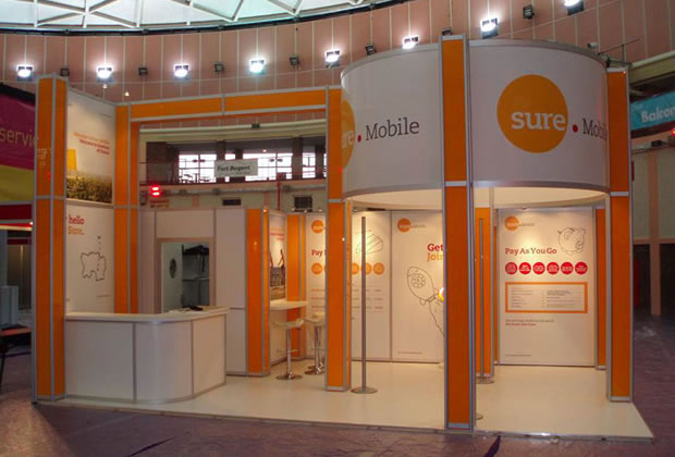 Sure Mobile R8 System Exhibition Stand