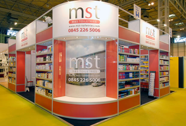 MS Toiletries R8 System Exhibition Stand