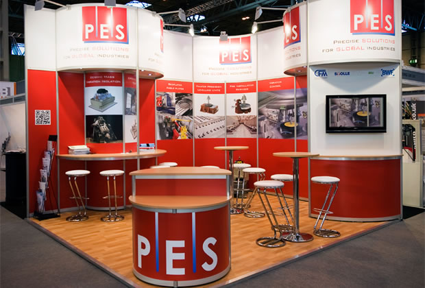 PES R8 System Exhibition Stand