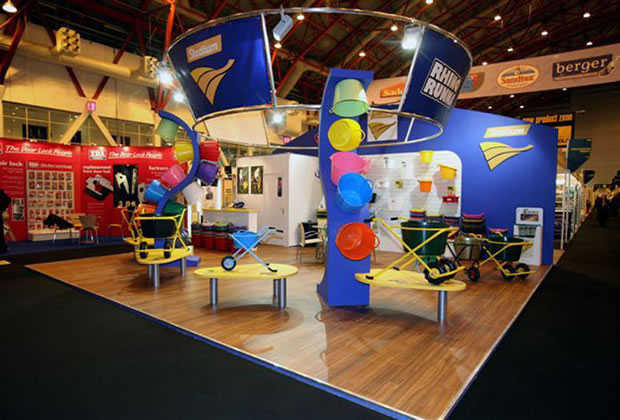 A tradition exhibition stand for Stadium Group