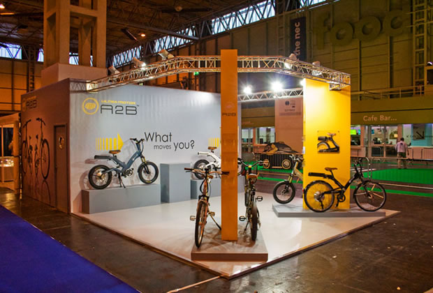 A tradition exhibition stand for Ultra Moto