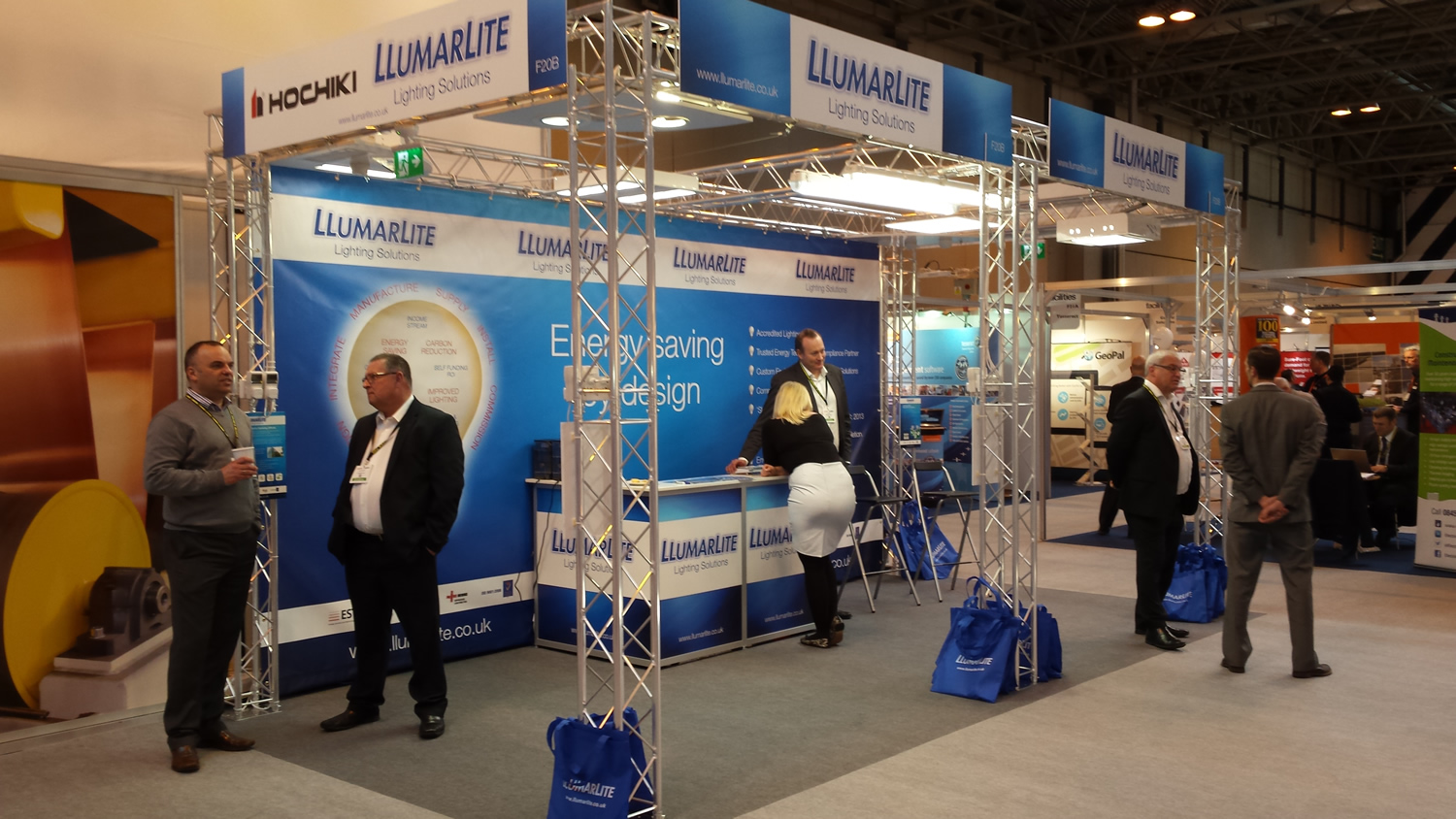 Exhibition Stand Build : Self build stand systems aspect exhibitions
