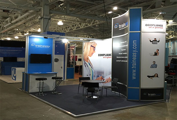 R8 System Exhibition Stand