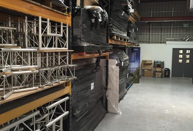 Aspect Exhibitions Storage Service