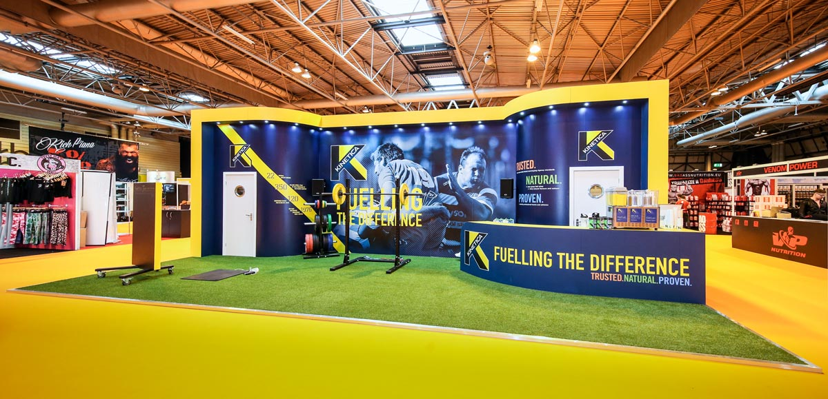 Bodypower Expo Stands : Gallery examples of our work aspect exhibitions