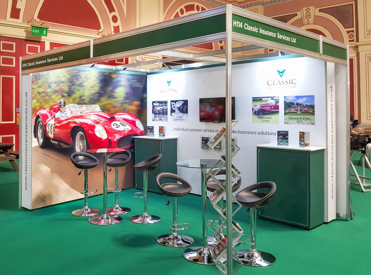Classic Car - Tension Fabric Exhibition Stand