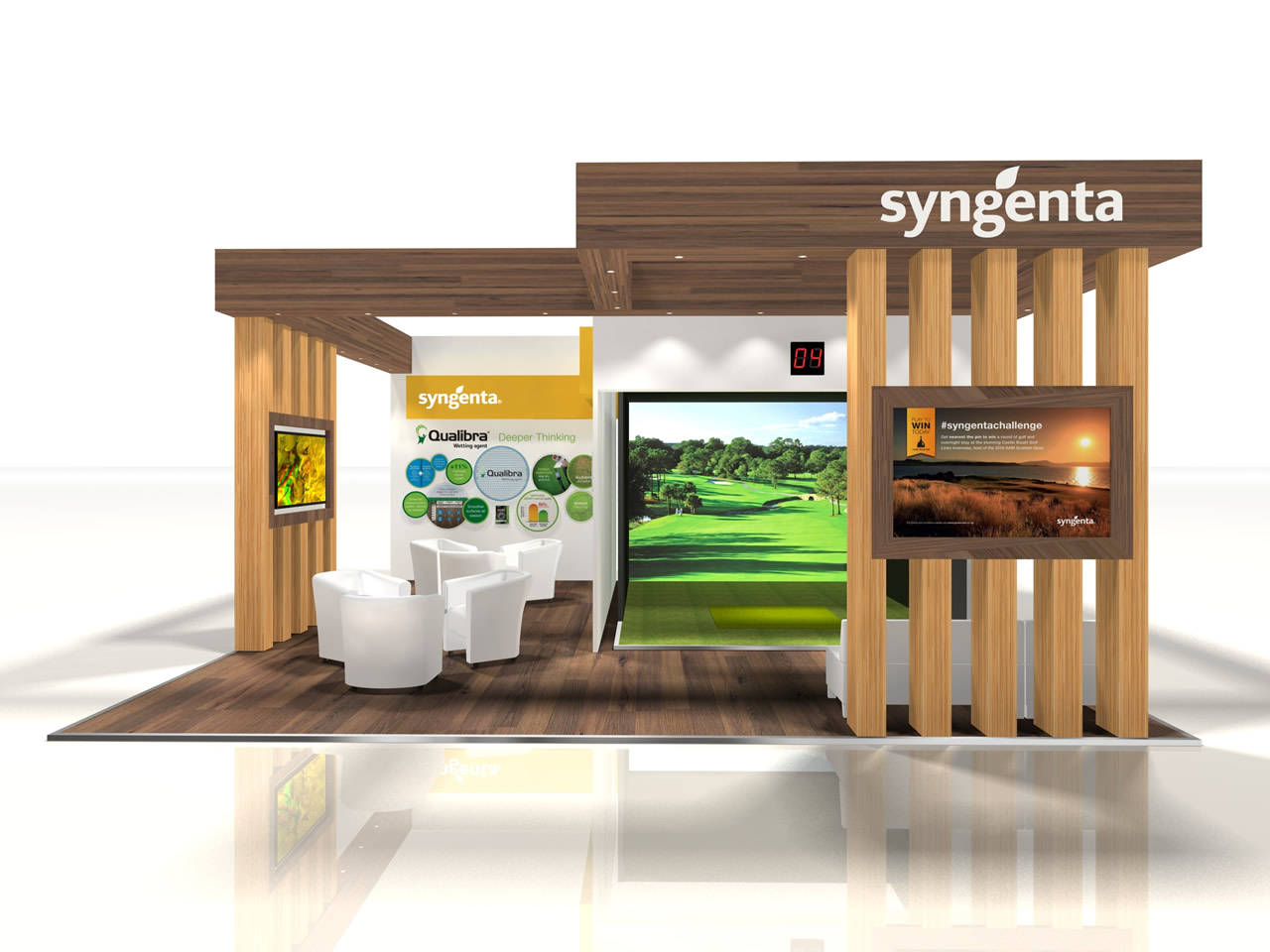 Example of exhibition stand designs