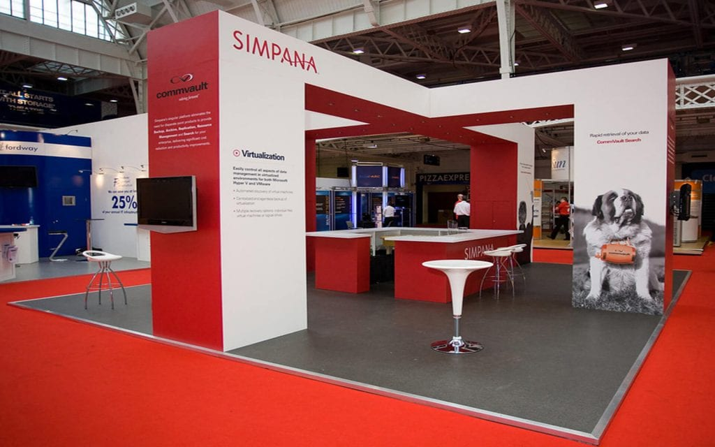 Custom Exhibition Stand Hire : Custom built exhibition stands