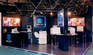 Exhibition Stand Systems : Meroform exhibition system m stands