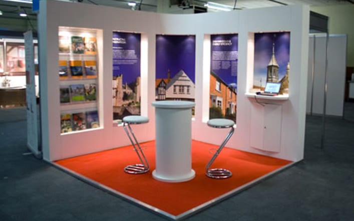 Exhibition Shell Scheme For Sale : Used exhibition stands for sale second hand