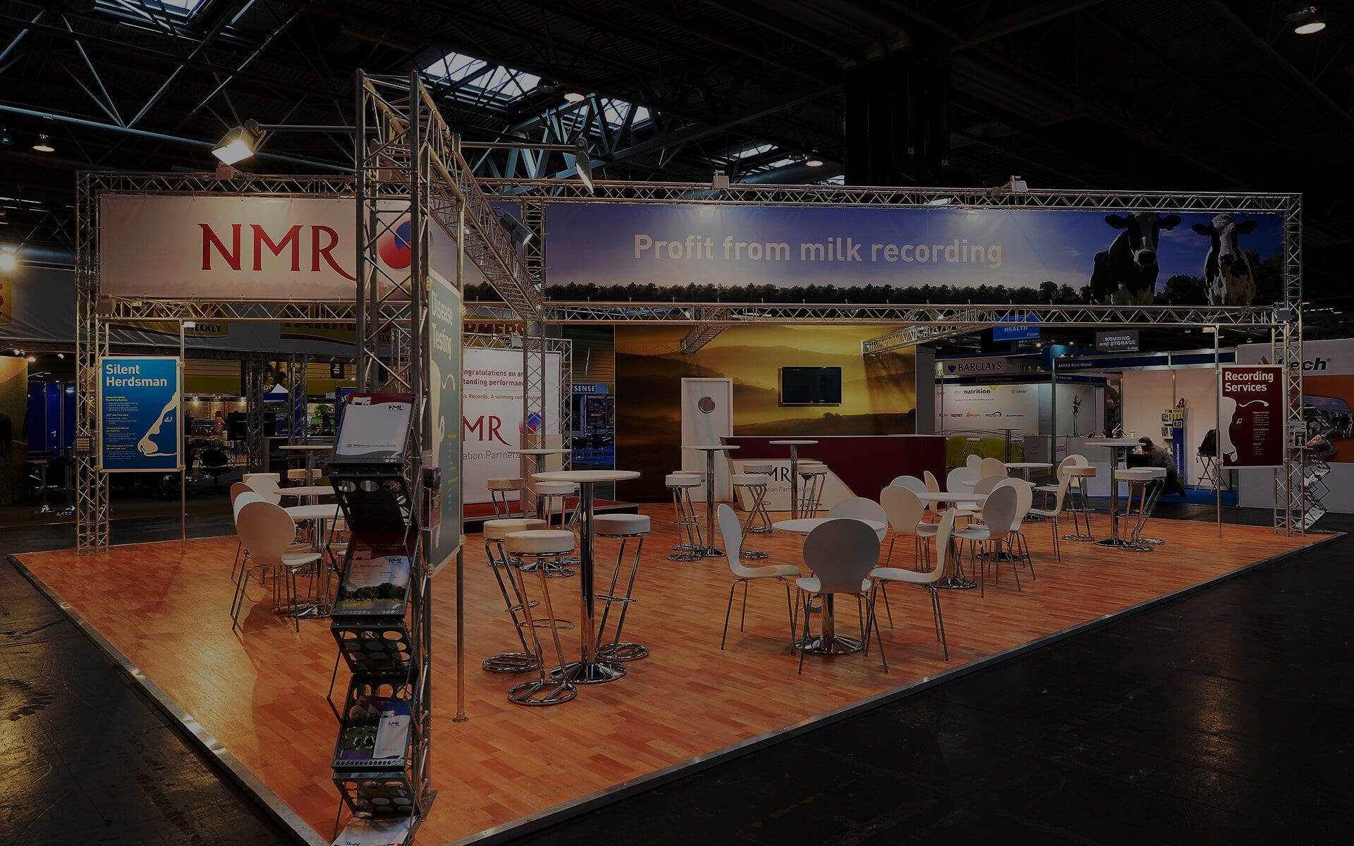 Exhibition Lighting Gantry