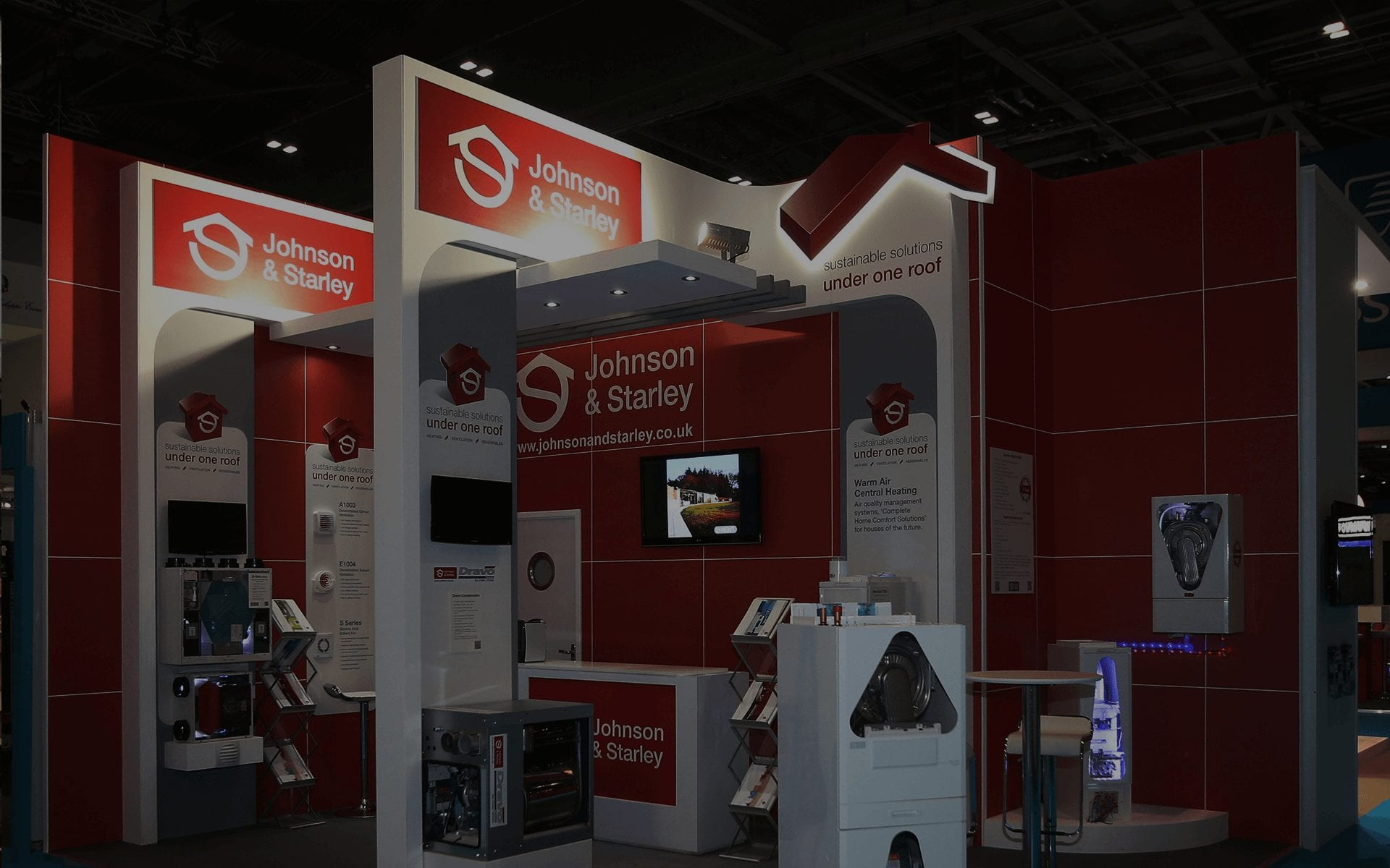 Exhibition Stand Builders In Poland : Professional stand installation
