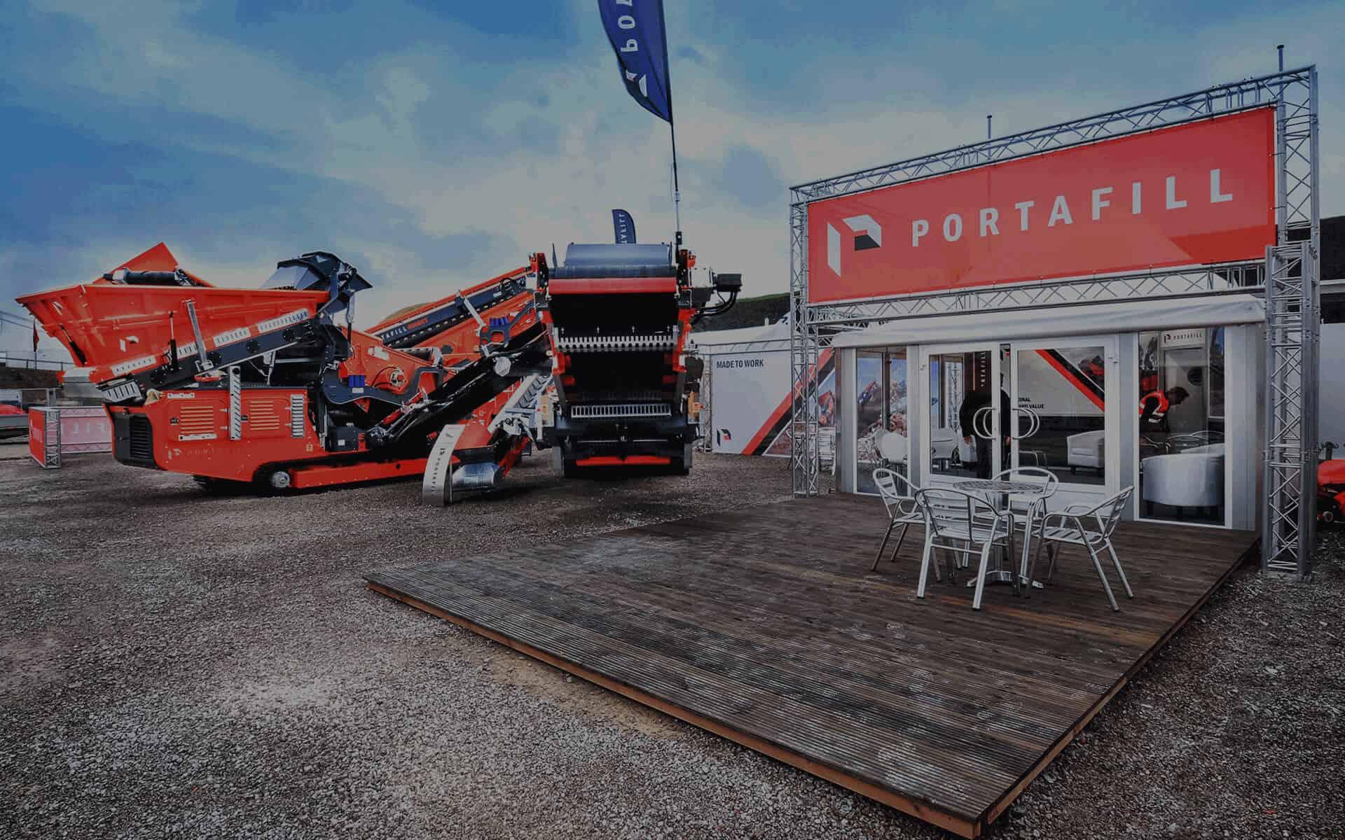Modular Exhibition Stands Zero : Outdoor exhibition stands